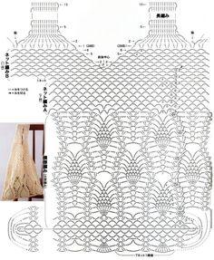 Crochet Pineapple Bag by aliabklynhandmade on EtsyProdukty podobne do Crochet Pineapple Tote Bag w Etsy Crochet Video, Crochet Diagram, Crochet Chart, Crotchet Bags, Knitted Bags, Crochet Handbags, Crochet Purses, Crochet Designs, Crochet Patterns