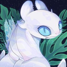 💎🖤Brightless🖤💎 One of Toothless's triplets, and my favorite Nightlight uwu🌸 She must be protected hnng😍 (I named her and assumed the… Httyd Dragons, Dreamworks Dragons, Cute Dragons, Night Fury Dragon, Wings Of Fire Dragons, Dragon Memes, Cute Fantasy Creatures, How To Train Dragon, Character Design Animation