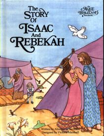 """rebecca in books   Click to view a larger cover image of """"The Story of Isaac and Rebekah ..."""