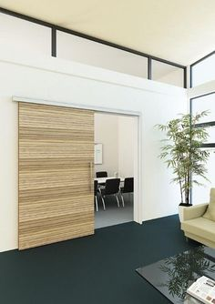 Acoustic Wooden Sliding Door LINDNER ArchiExpo