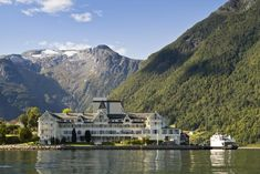 Travel to the famous Sognefjord from Bergen, one of nature's wonders with Fjord Tours. The Sognefjord in a nutshell tour starts with a fjord cruise from Bergen to Flåm - home of the worlds' moste scenic railway. Unique Hotels, Beautiful Hotels, Best Hotels, Places Around The World, Around The Worlds, Norway House, Norway Fjords, Alesund, Norway Travel