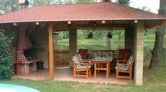 Landscape Design, Garden Design, Gazebo, Pergola, Outdoor Fireplace Designs, Italian Home, Concrete Projects, Barbecues, Outdoor Kitchen Design