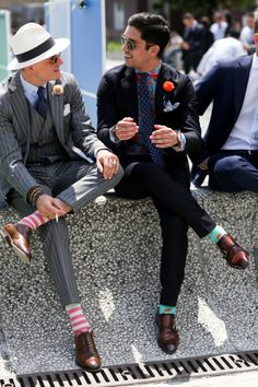 Socks are more important to your overall look than you may think