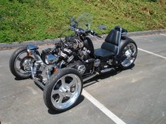 Roadstercycle with 4cyl. V-Max Engine