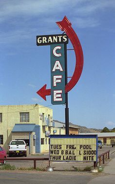 Route 66 - Grants Cafe, on old Rt. 66 in New Mexico.
