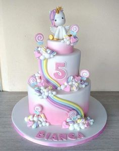 - Unicorn Cake Bolos Unicórnio Cakes Licorne K?e Pasteles Mga Happy Birthday Kuchen, Birthday Cake Girls, Food Cakes, Cupcake Cakes, Savoury Cake, Cute Cakes, Party Cakes, Cake Designs, Cake Recipes