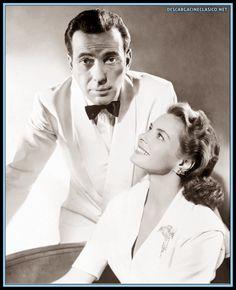 Humphrey Bogart e Ingrid Bergman, en Casablanca