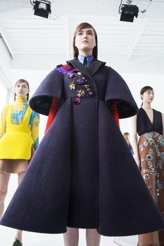 New York Fashion Week - Delpozo FW16 Photos by Diego Campos