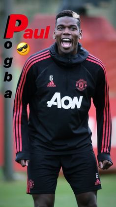 Paul Pogba, Soccer Players, Football Team, Manchester United Football, Martial, Beautiful Men, Motorcycle Jacket, The Unit, Training