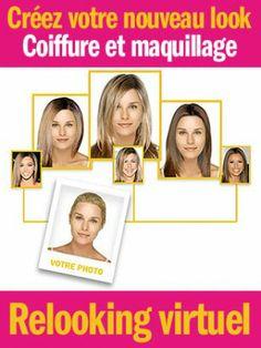 Coiffure et maquillage : trouvez votre style grâce au relooking virtuel de Cosmopolitan !
