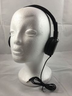 Headphones Vivitar DJ Mixers Foldable Headphones Black | eBay