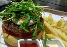 La burger de autentica carne de wagyu del DeSantaRosalia. Mas info en el blog