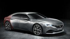 Cars - Peugeot Exalt : le concept car en détails, prémisse d'une future 608 ? - http://lesvoitures.fr/peugeot-exalt-concept-car-2014/