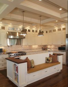kitchen islands with seating | ... Design Ideas Added to the Kitchen Cabinet Tabs | RTA Kitchen Cabinets
