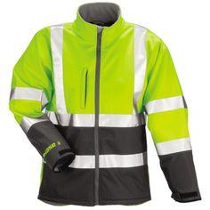 Phase 3 Flourescent Yellow/ Grey Protective Jacket