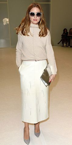 93880afb6ea8 Olivia Palermo at the Paris Fashion Week (March 6