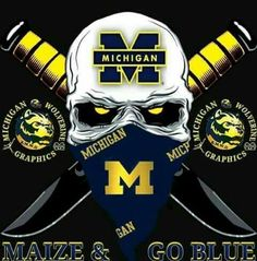 MAIZE &  GO BLUE!!