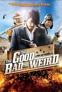 The Good, The Bad & The Weird Directed by Jee-Woon Kim.  An Asian Western.  A bit long and I really hate when they have the camera shake everywhere; but the acting was great, funny and a fun asian film... (there are some graphic scenes but nothing compared to Jee-Woon Kim's I Saw the Devil)