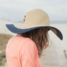 Chapeau d'Eté à Bord Large Mandy sable JOULES de chez chapeauxetcasquettes.fr.
