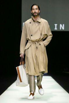 Giorgio Armani Menswear Spring Summer 2018 Milan