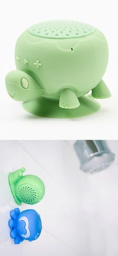 peaker Creatures (Bluetooth Shower Speakers) by OnHand - A waterproof / water-resistant Bluetooth Speakers with fun and quirky creature designs. These buddies are wireless Bluetooth speakers especially made for the showers. Speaker Creatures have suction cups in order to stay attached in your shower wall while streaming your music or answering calls and taking a bath. Also, it has rechargeable batteries, better to power it up for just about 6 hours. | For more updates, follow Best Buy…