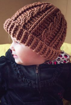 MNE Crafts: Free Pattern - Cabled Beanie