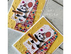 Party Panda meets Tutti Frutti - Day Two of Occasions 2018 Sneak Peek Stampin Up video tutorial for handmade birthday card