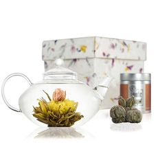Prestige Discovery Flowering Tea Set from notonthehighstreet.com