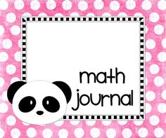 A little kinder told me so...: Math Journals and Counting Collections