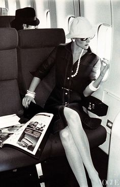Well-traveled, Vogue, 1973.