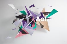 AOL's re-brand was really cool. Too bad ain't no one gonna use it ever.