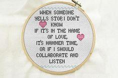 diy modern cross stitch kit, Funny cross stitch kit, subversive cross stitch, beginner stitch kit, snarky, mom's day gift, Mother's day gift