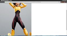 Gogo's bodysuit details