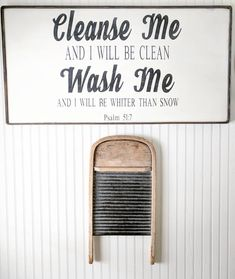 scripture for laundry space