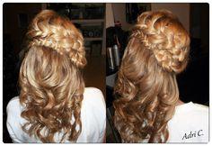 Beautiful #braid design by Adri C of Romania. #hotonbeauty www.hotonbeauty.com