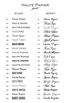 tattoo fonts Design Your Own - Personal Stationery — Haute Papier Tattoo Lettering Fonts, Tattoo Script, Typography Fonts, Hand Lettering, Fonts For Tattoos, Simple Tattoo Fonts, Tattoo Word Fonts, Best Tattoo Fonts, Tattoo Quotes