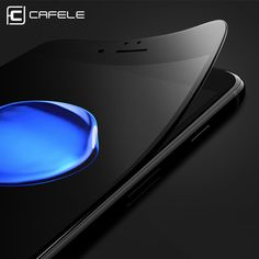 Screen Protectors. CAFELE For iphone 7 Screen Protector 3D soft edge full cover Tempered Glass For iphone 7 plus Seamless covering Anti Glare Film. #Screen Protectors