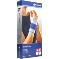 MANUTRAIN Handgelenkbandage rechts Grösse 6 natur:   Packungsinhalt: 1 St Bandage PZN: 01285648 Hersteller: Bauerfeind AG / Orthopädie…