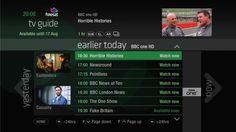 Freesat Freetime UI