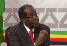 Mugabe Threatens To Punch Interviewer