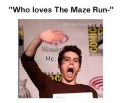 Image result for the maze runner memes