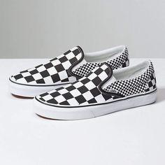 9036cbfcec93 Mix Checker Slip-On Vans Slip On Checkered