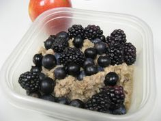 Dr. Fuhrman quinoa breakfast pudding