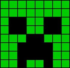 creeper head fuse bead pattern