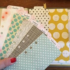 """From @theresetgirl - """"Do you ever make sub dividers for your planner? It's one of my favorite tricks for setting up my planners. I add the tabs at the top and make them skinny,…"""""""