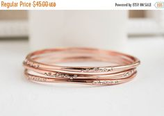 rose or bracelets bracelet en or rose or rose par projectdahlia