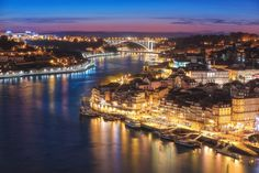 Portugal - Porto Skyline by Jean Claude Castor