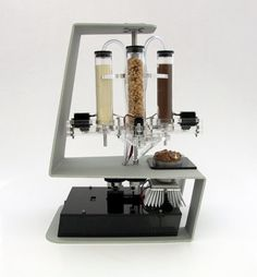 3-D food printer. I want one!.Join the 3D Printing Conversation: http://www.fuelyourproductdesign.com/