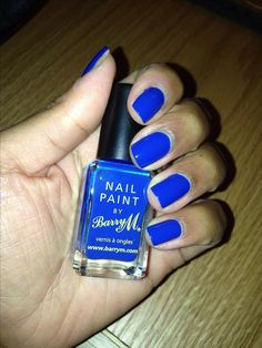 BarryM, Nail Paint, cobalt blue reminding myself to get this xx