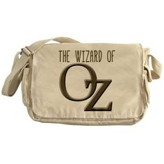 The Wizard of Oz Silver Messenger Bag by scarebaby
